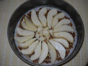 Pear Ginger Upsidedown Cake ( Gluten Free ) from My Kitchen Wand