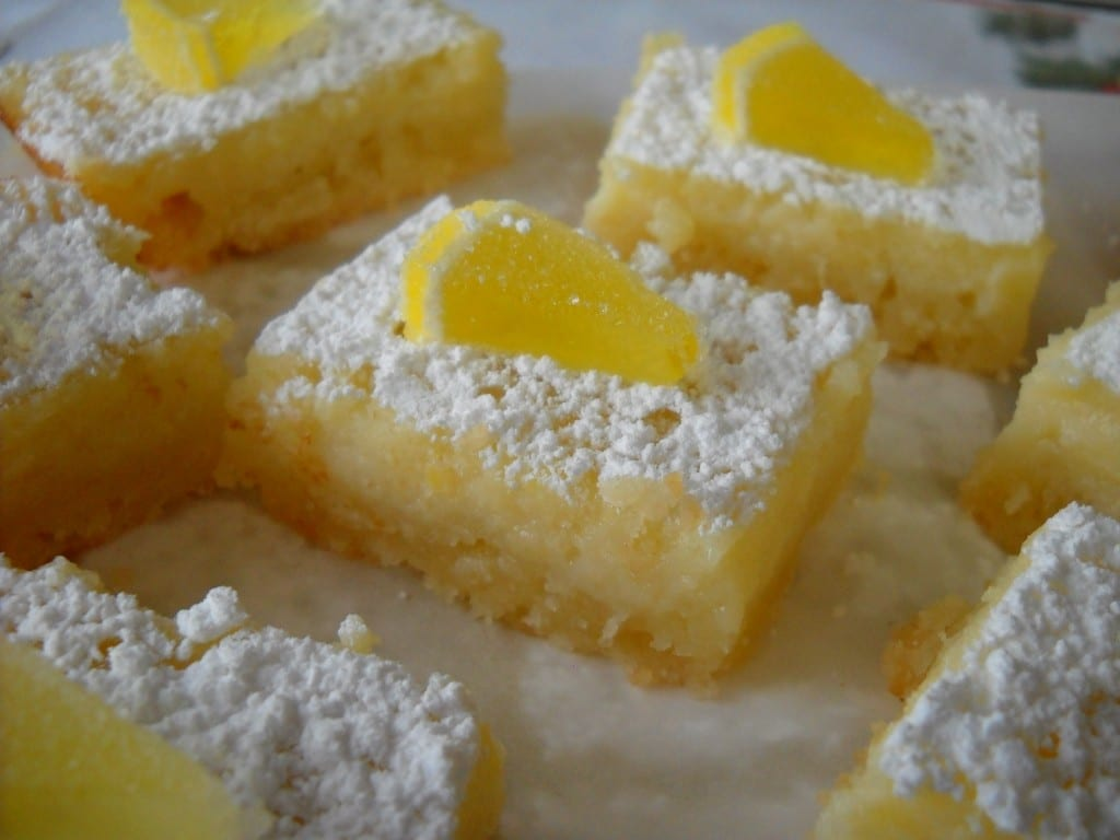 Lemon Curd Buttermilk Squares from My Kitchen Wand