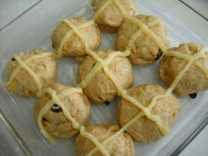 Whole Wheat Hot Cross Buns from My Kitchen Wand
