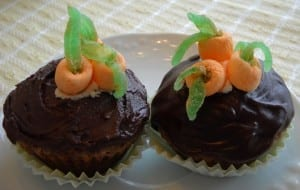 Decorated Spring Cupcakes from My Kitchen Wand