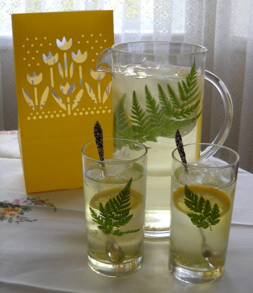 Refreshing Herbs & Bubbly from My Kitchen Wand