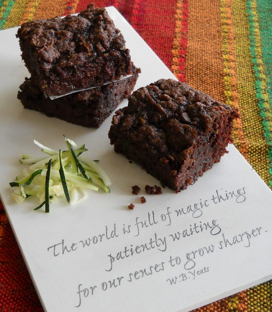 Zucchini Brownies from My Kitchen Wand
