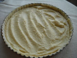 Pear & Almond Tart with Maple Rum Cream from My Kitchen Wand