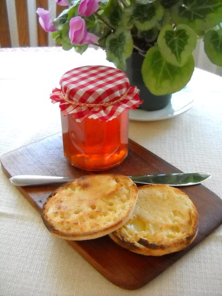 Ginger (or not) Crabapple Jelly from My Kitchen Wand