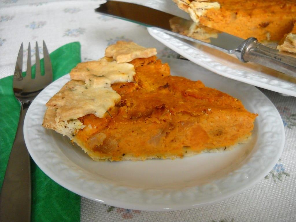 Savoury Pumpkin Yam Pie from My Kitchen Wand