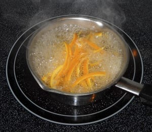 Orange in Cardamon, Cinnamon and Rosewater Syrup from My Kitchen Wand
