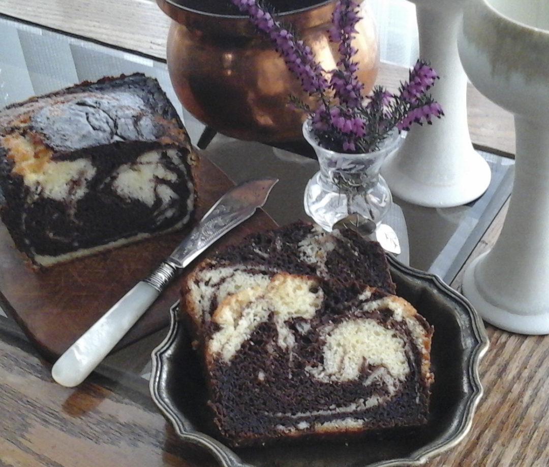 Orange Marble Cake from My Kitchen Wand