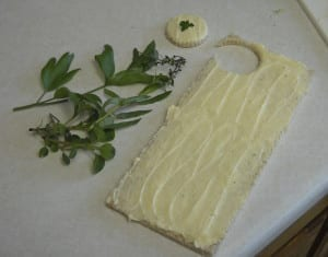 Herb Finger Sandwiches for a Fairy Tea from My Kitchen Wand