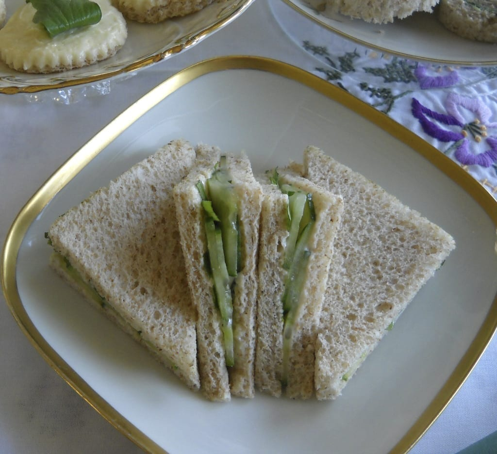 Cucumber Tarragon Triangles from My Kitchen Wand