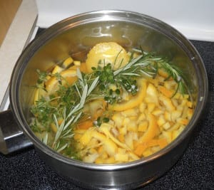 What do I do with my herbs? Chopped in cooking and Pizzaish! from My Kitchen Wand