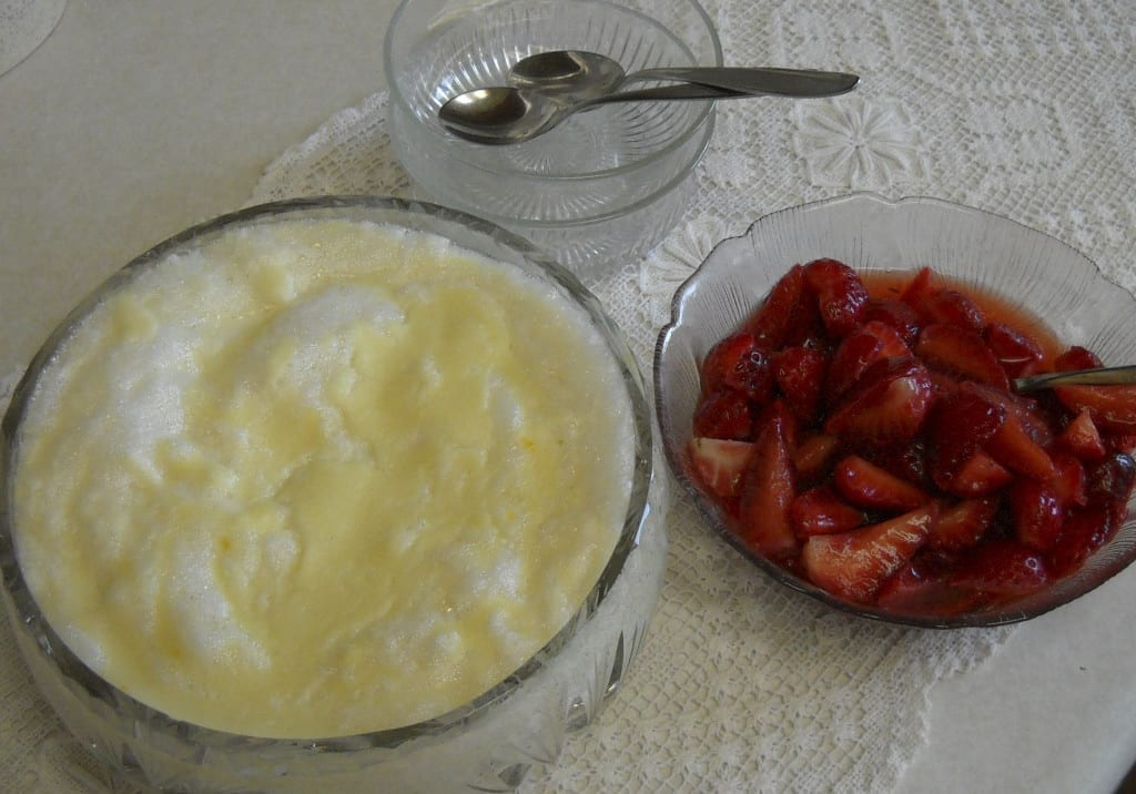 Cream of Wheat Pudding with fresh fruit from My Kitchen Wand