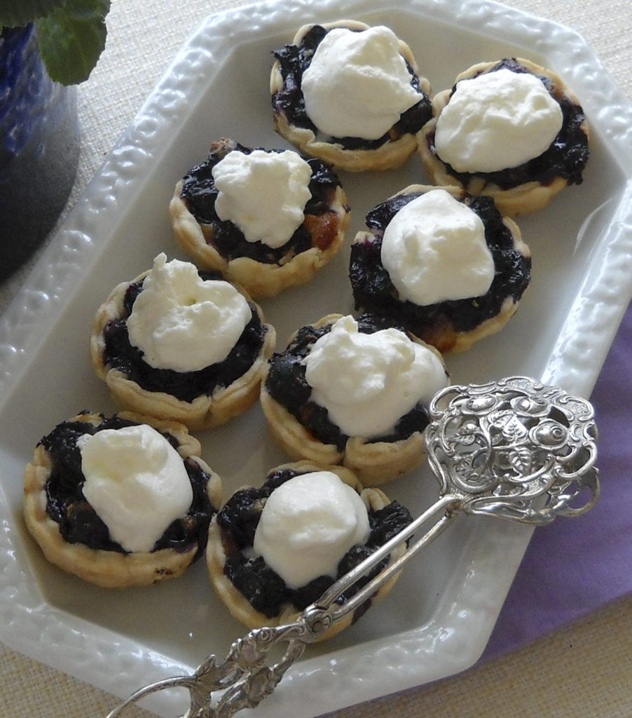 Blueberry Cinnamon Cheese Tarts from My Kitchen Wand