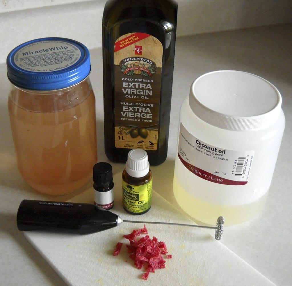 Rosewater Honey Handcream from My Kitchen Wand