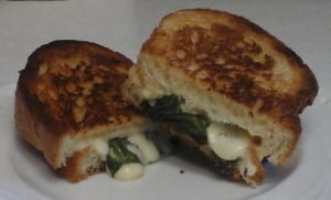 Grilled Cheese with Basil, Chives and Parsley from My Kitchen Wand