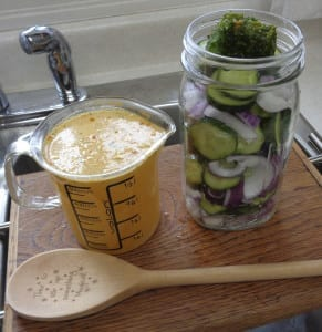Quick & Easy Summer Pickles from My Kitchen Wand