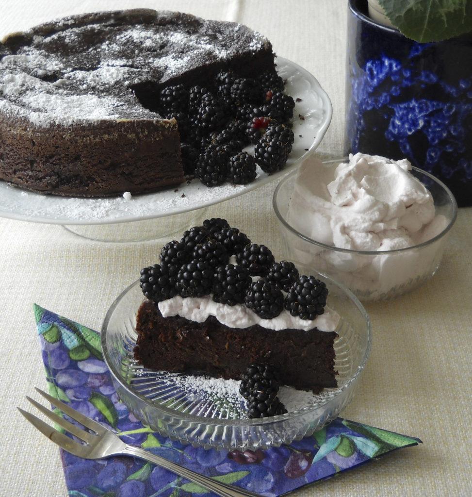 Gluten Free Kidney Bean Chocolate Cake