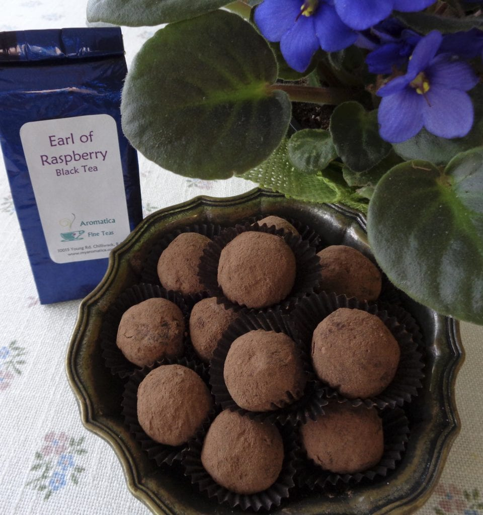 Earl of Raspberry Truffles from My Kitchen Wand