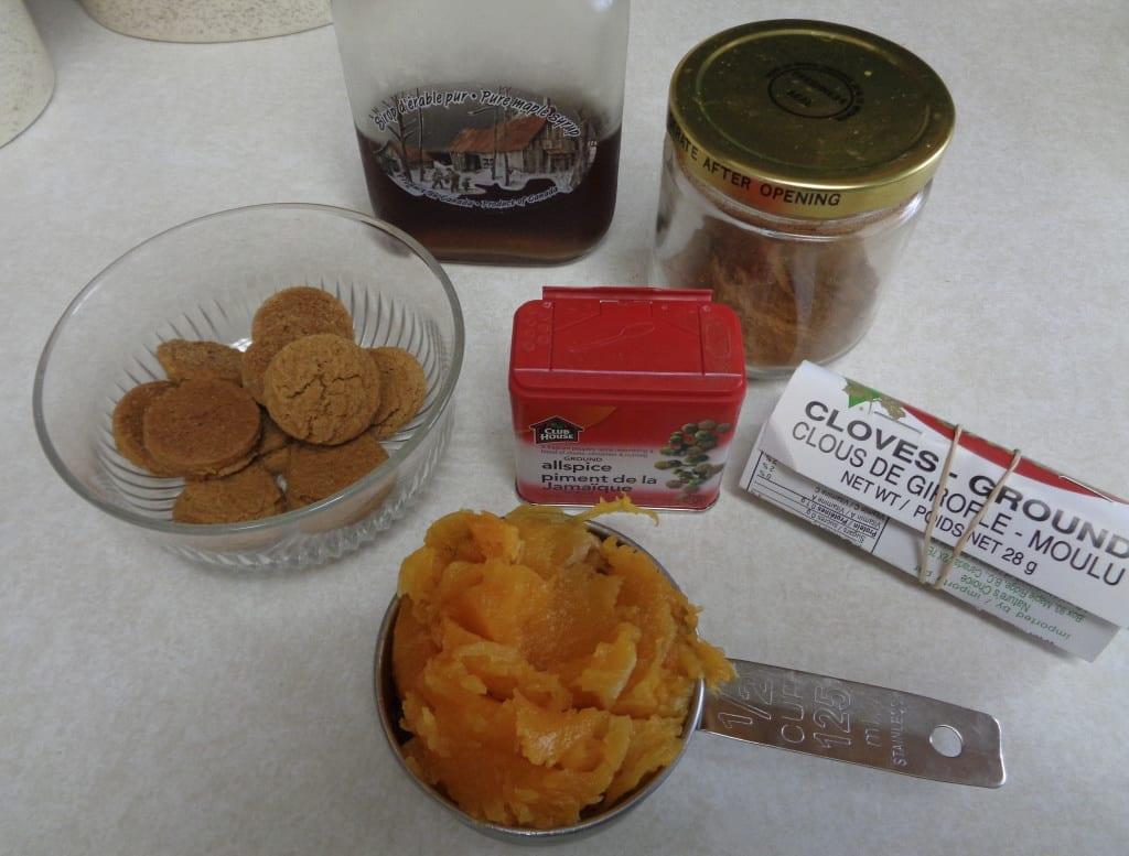 Ginger Snap Pumpkin Pie Ice Cream from My Kitchen Wand