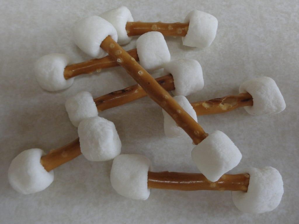 Dem Bones, Dem Bones, Dem White Chocolate Bones from My Kitchen Wand
