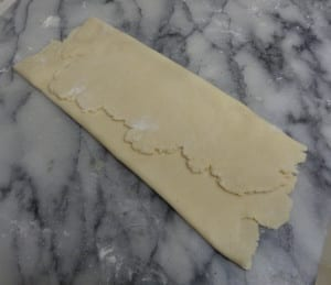 Puff Pastry by Food Processor from My Kitchen Wand