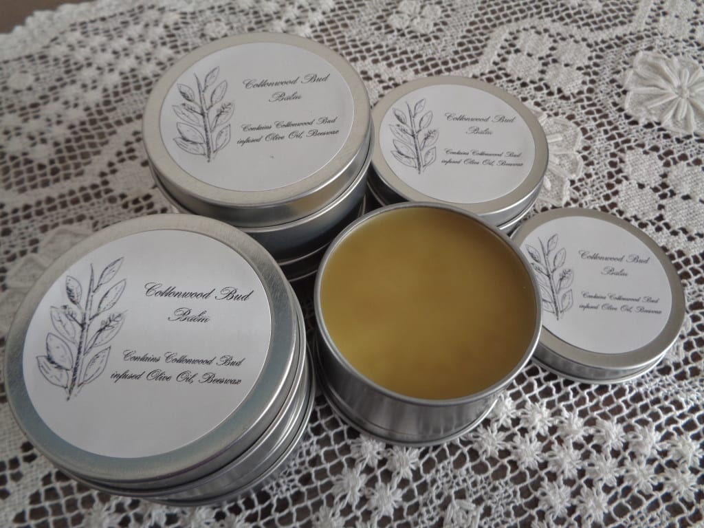 Cottonwood Bud Salve from My Kitchen Wand