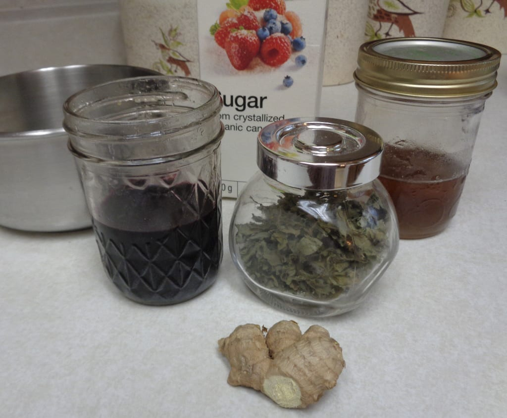 Elderberry Lozenges from My Kitchen Wand