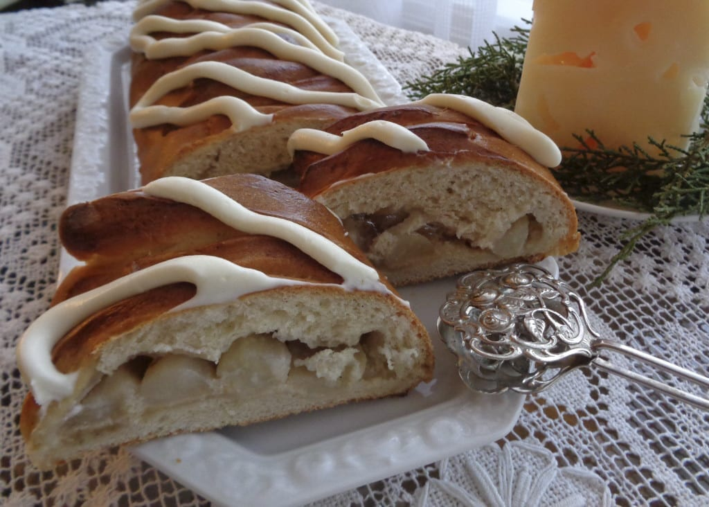 Pear and Halva Braid from My Kitchen Wand