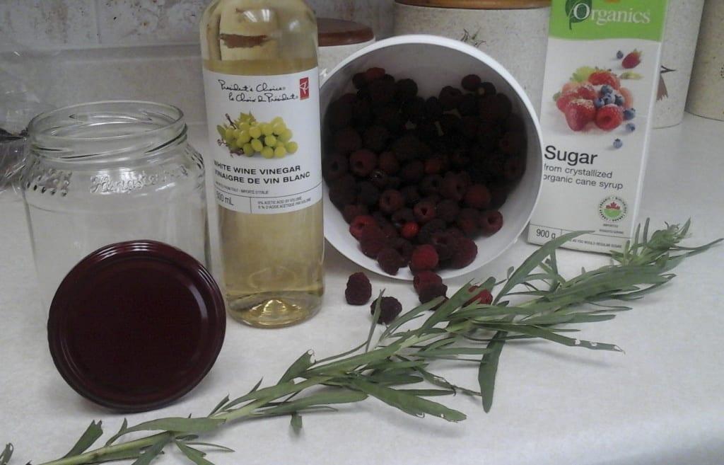 Raspberry Tarragon Shrub from My Kitchen Wand