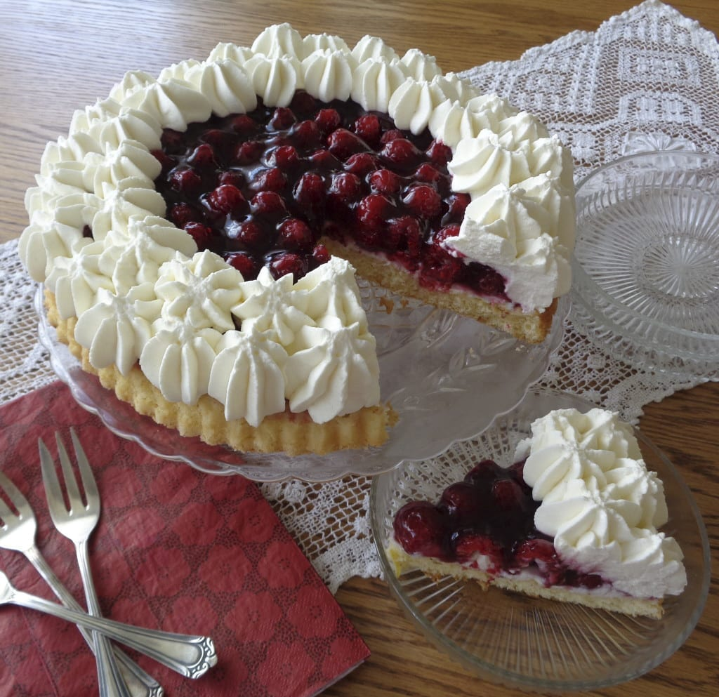 Raspberry Torte from My Kitchen Wand