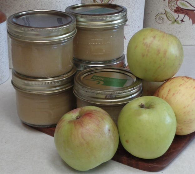 Smooth Applesauce - the easy way from My Kitchen Wand
