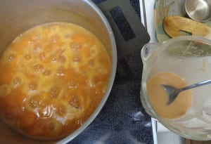 Apricot Almond Sauce with Whiskey from My Kitchen Wand