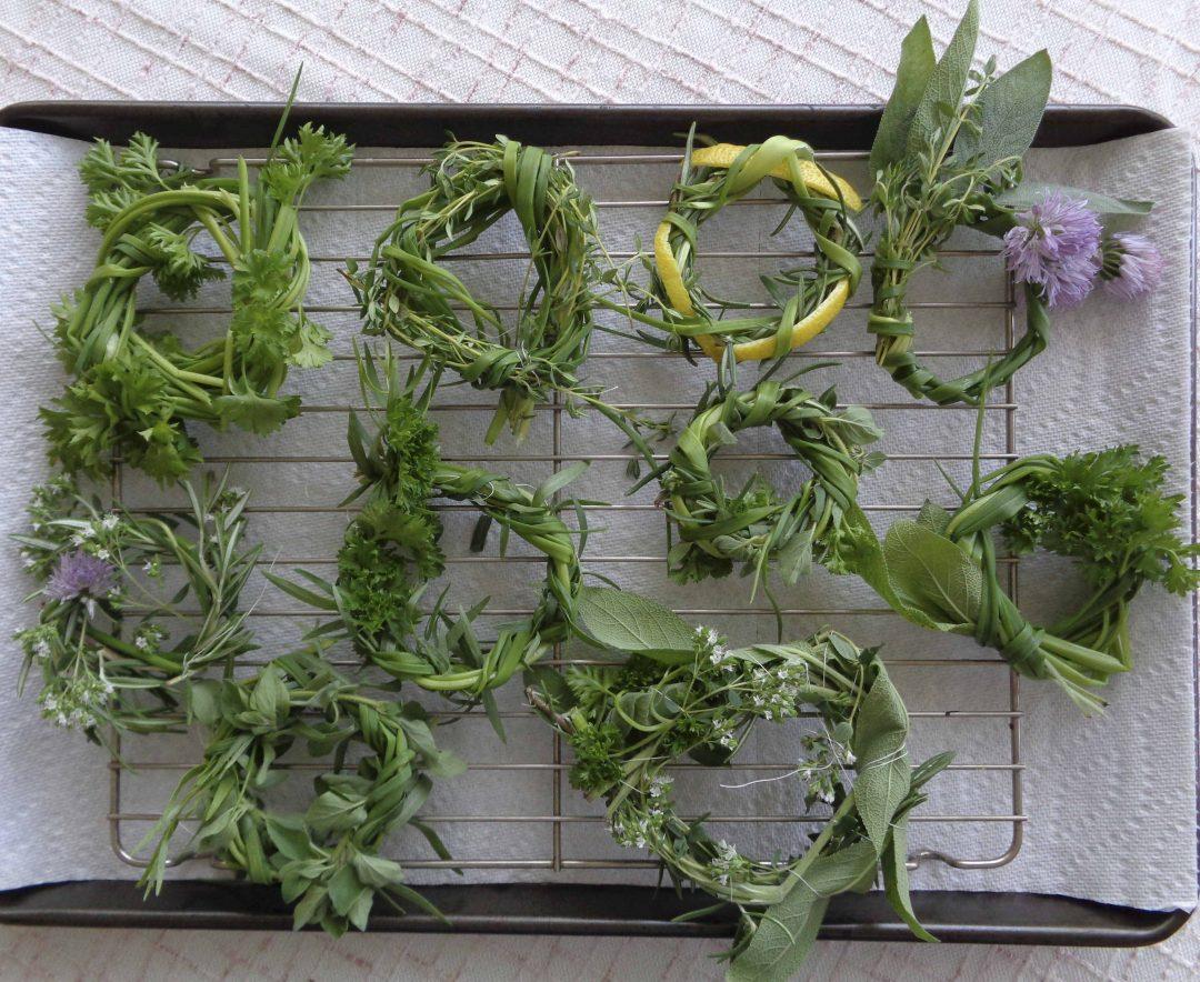 Soup wreaths for Küchen wand