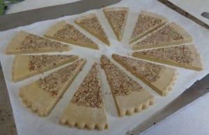 Pumpkin Pie Shortbread from My Kitchen Wand
