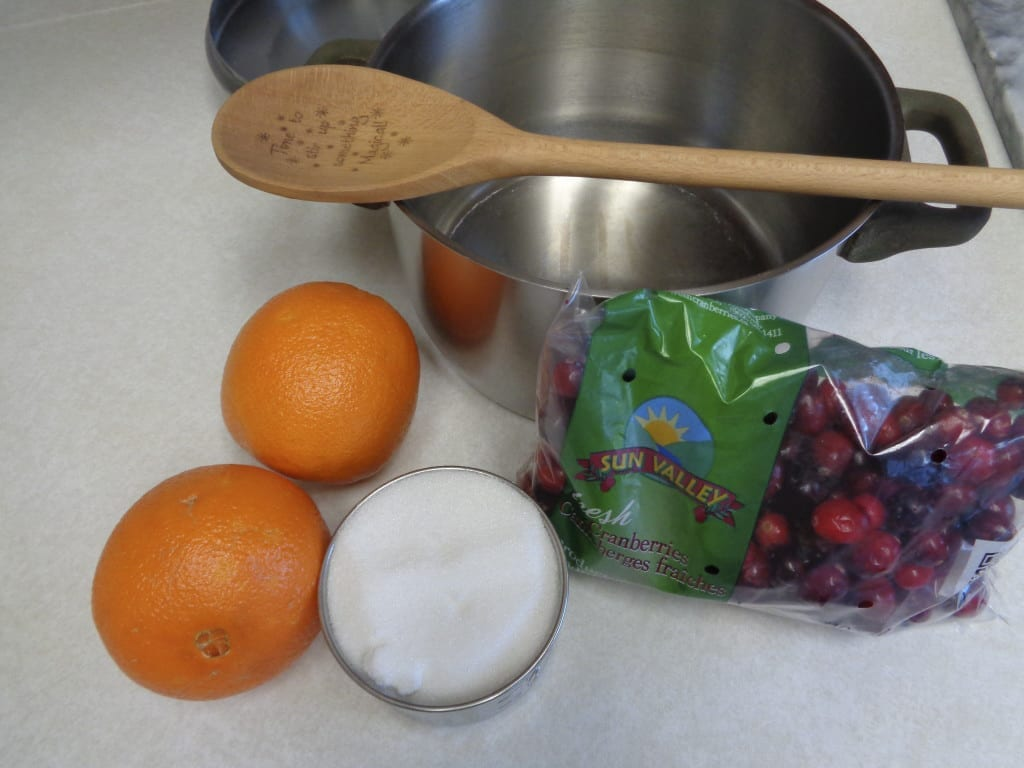 Cranberry Sauce with Orange from My Kitchen Wand