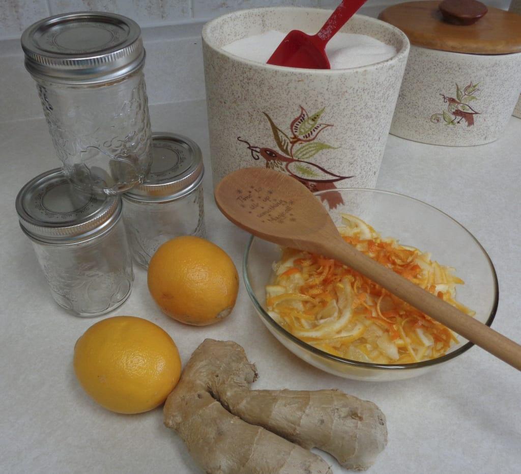 Meyer Lemon & Orange Ginger Marmalade from My Kitchen Wand