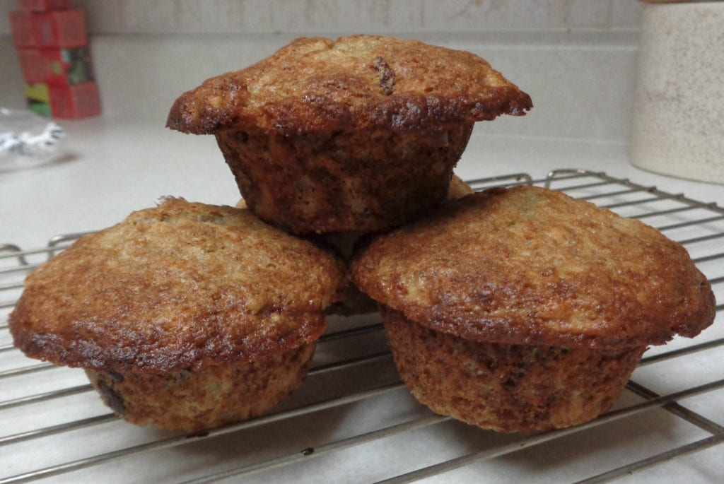 Banana Muffins from My Kitchen Wand