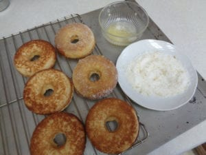 Baked Lemon Doughnuts ( Two options ) from My Kitchen Wand