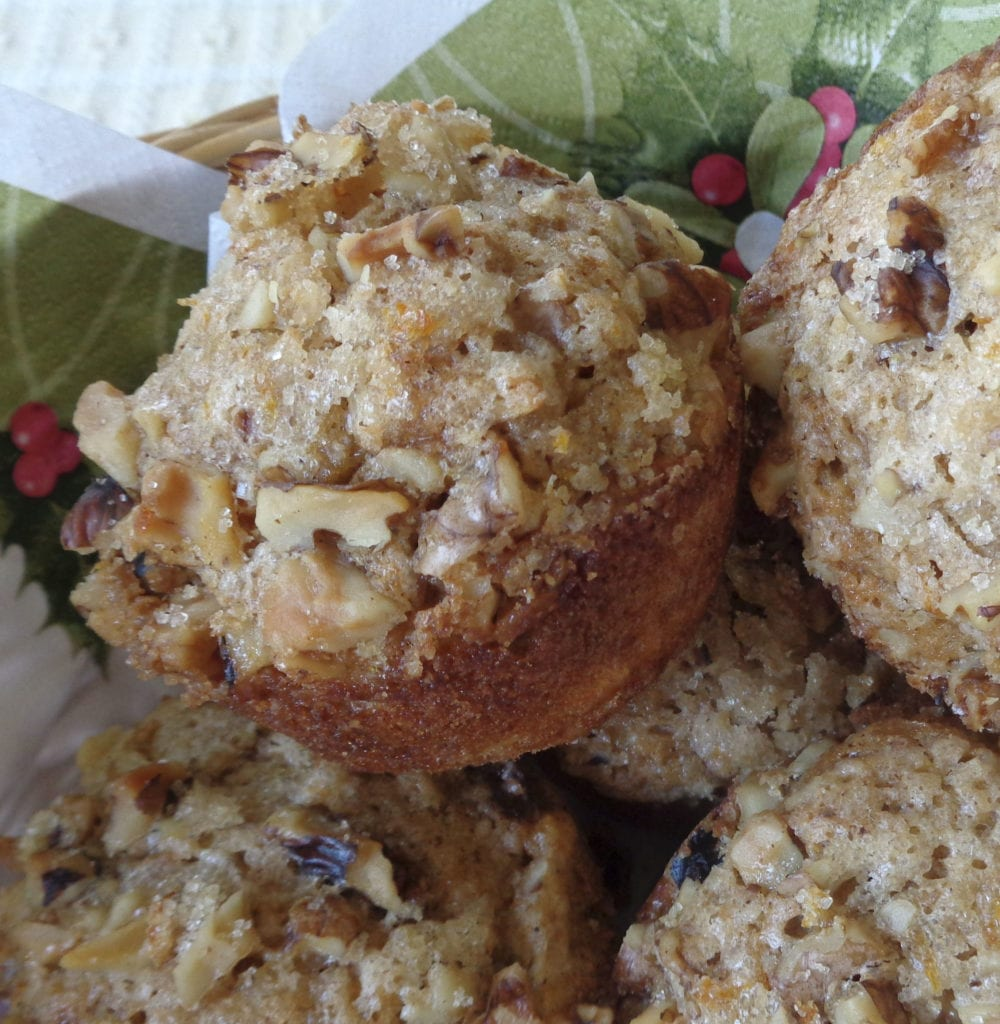 Spiced Parsnip and Apple Muffins from My Kitchen Wand