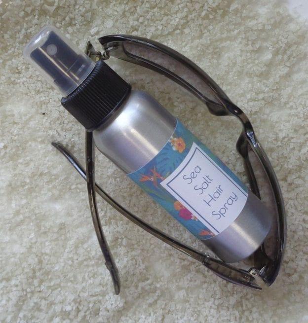 Sea Salt Hair Spray from My Kitchen Wand