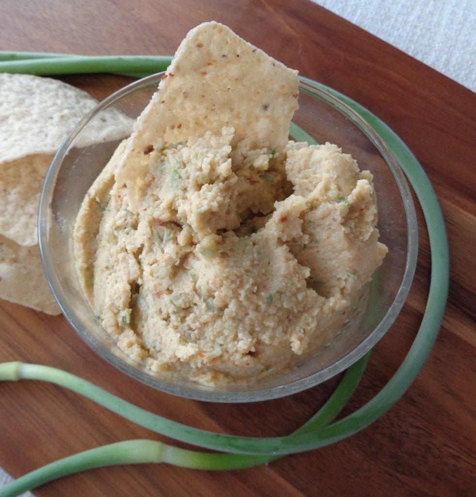 Garlic Scape Hummus from My Kitchen Wand