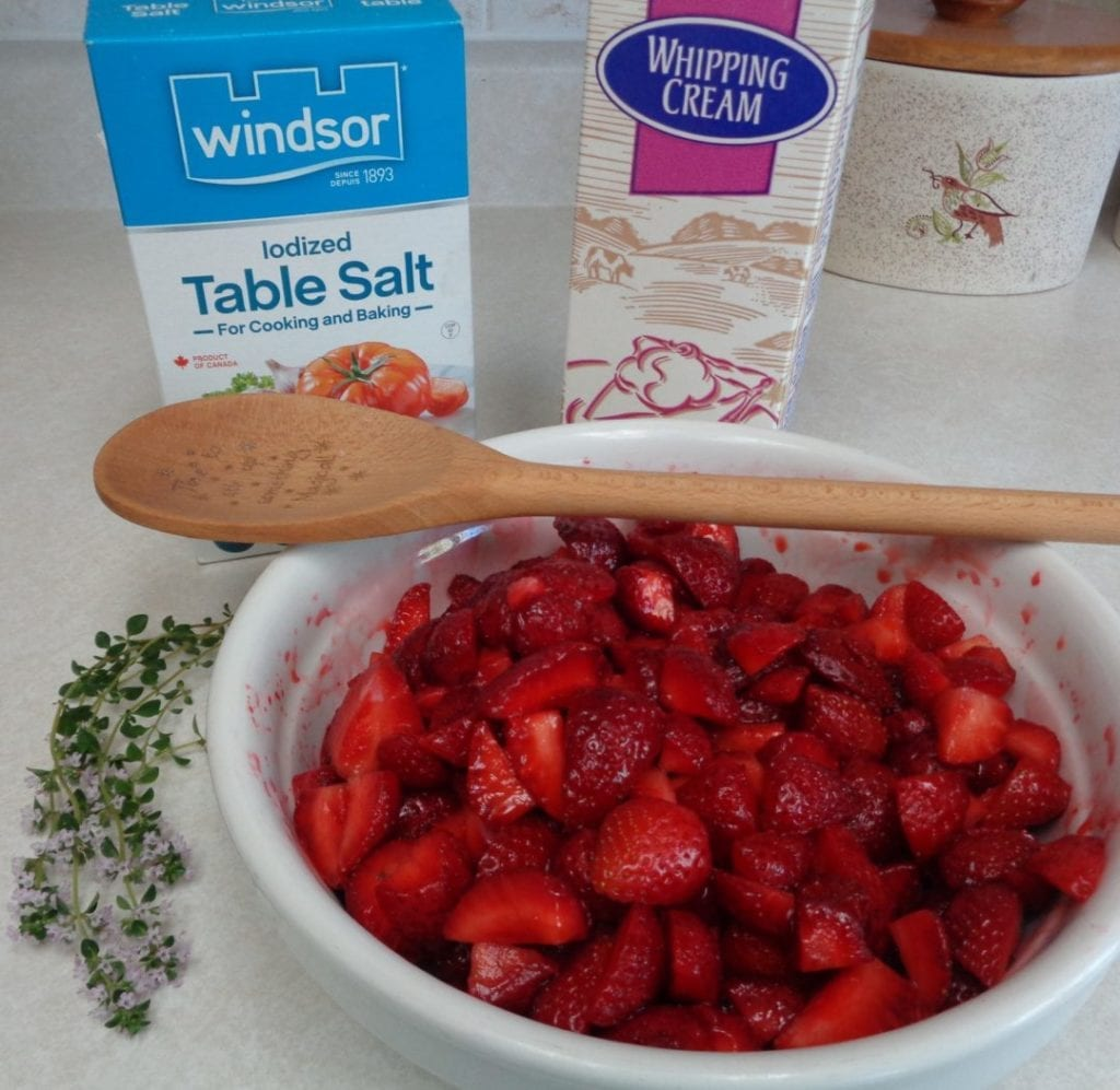 Strawberry Thyme Butter from My Kitchen Wand