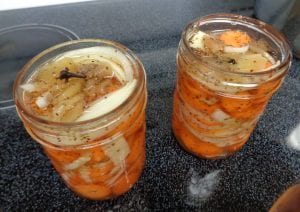Carrot Pickles from My Kitchen Wand