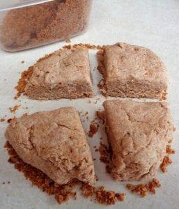 Spelt & Almond Flour Buttermilk Biscuits from My Kitchen Wand