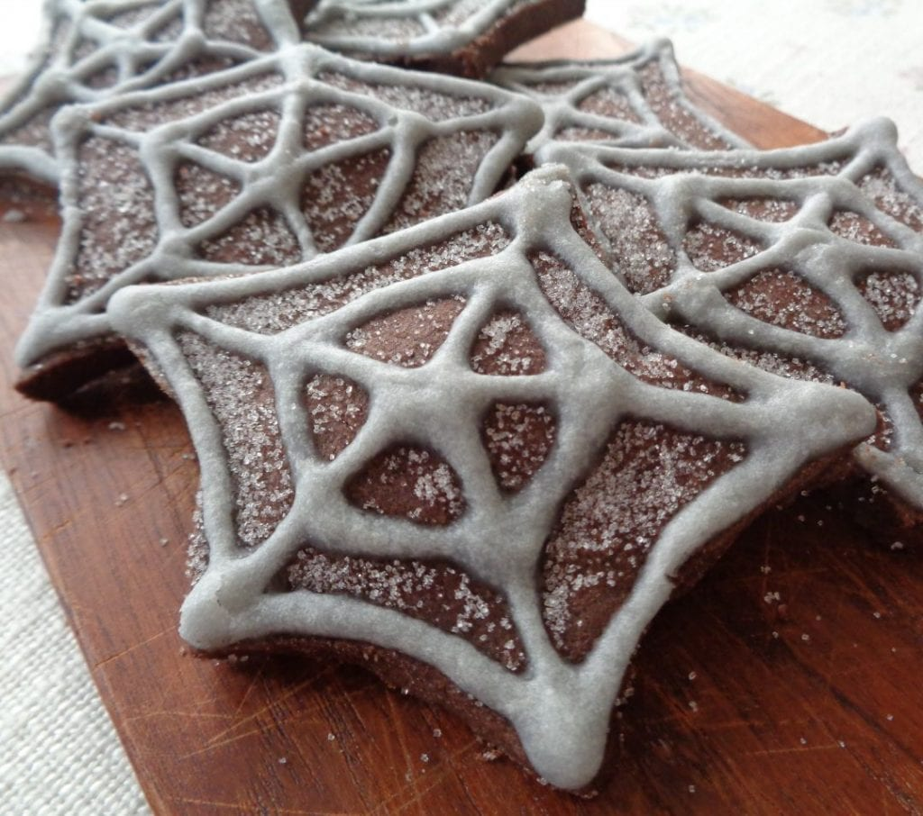 Silver Web Cookies from My KItchen Wand