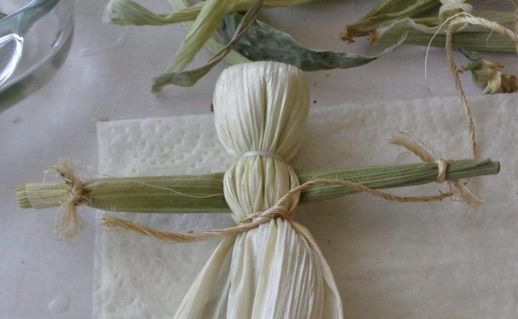 Corn Husk Kitchen Witch from My Kitchen Wand