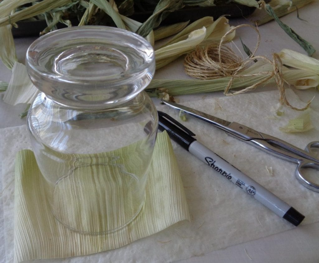 Corn Husk Kitchen Witch from My Kitchen Wand