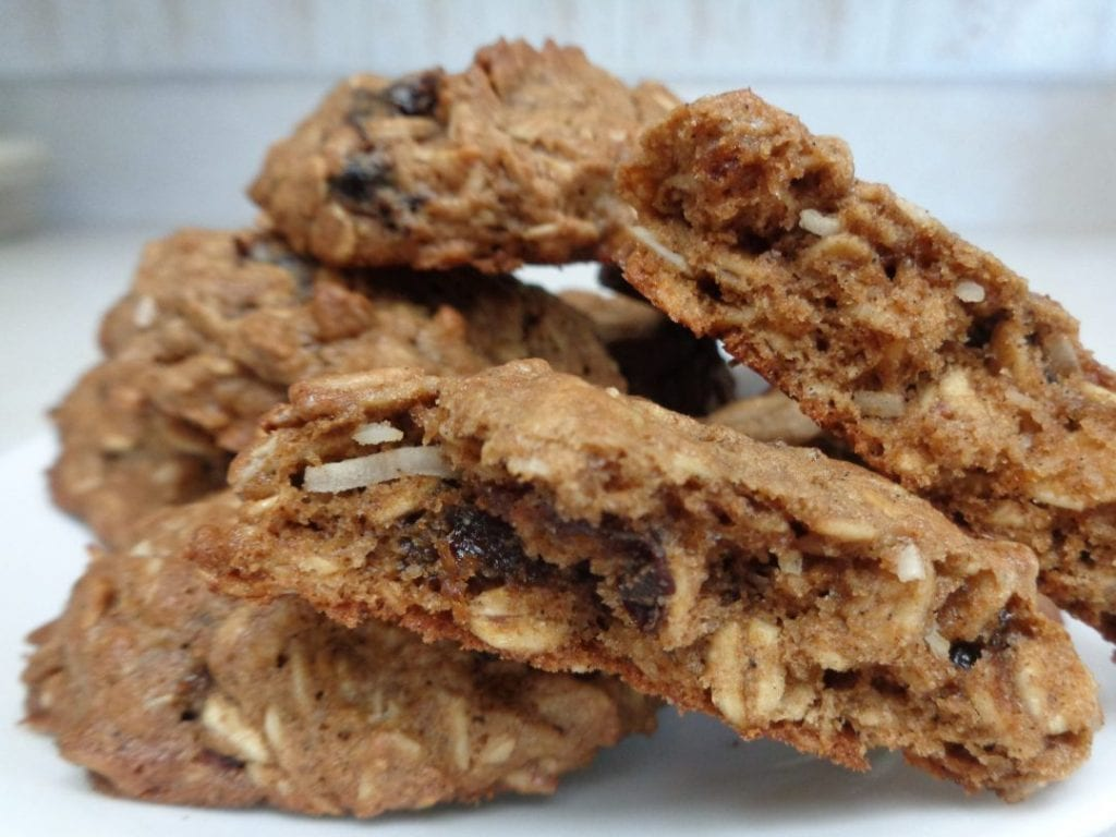 Einkorn & Oatmeal Cookies from My Kitchen Wand