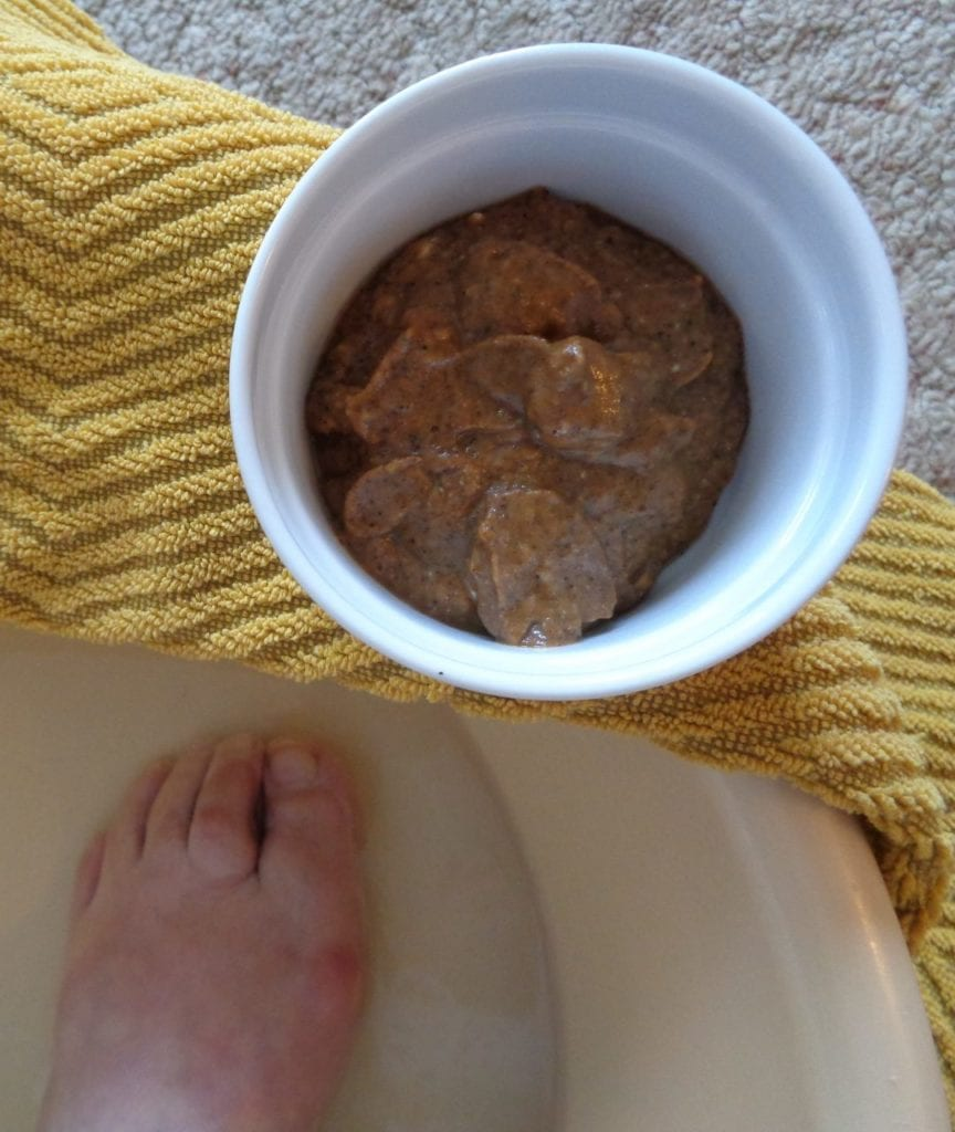 Pumpkin Pie Foot Scrub from My Kitchen Wand