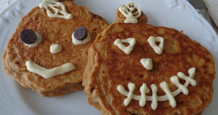 Einkorn Pumpkin Spice Pancakes from My Kitchen Wand