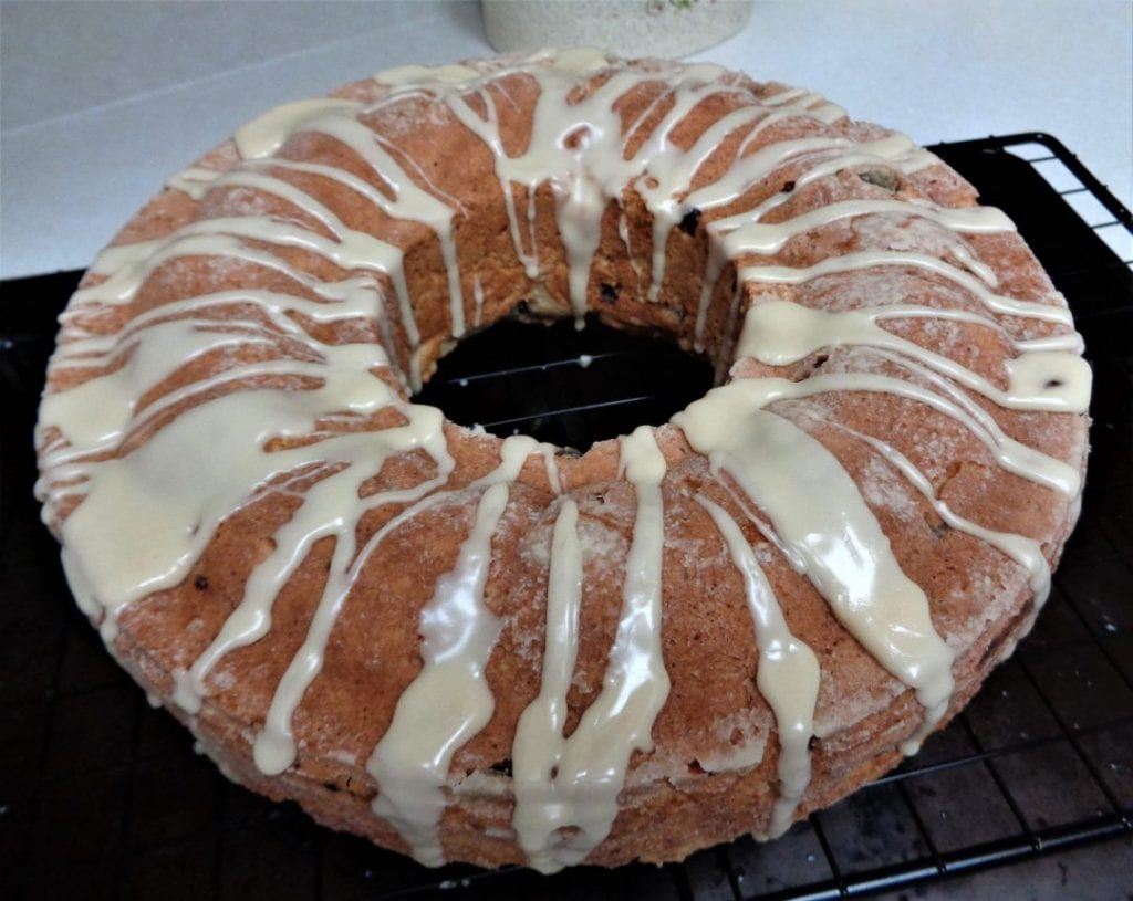 Egg Nog Cake from My Kitchen Wand